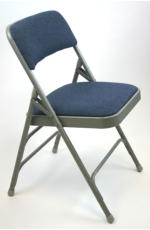 upholstered metal folding chairs for office or events