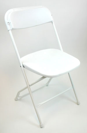 value plastic folding chair
