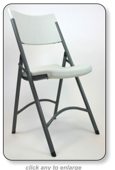 highly rated as a comfortable folding chair - Heavy Duty Folding Chairs