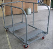 folding table cart for round and rectangular types